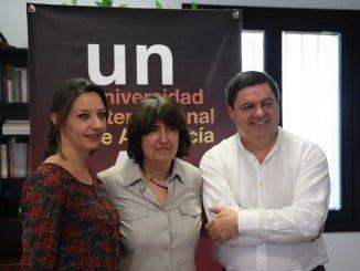 El documental Alalá dirigido por una onubense de Remedios Malvarez, quien ha estado presente en el coloquio posterior a la proyección en la Unia