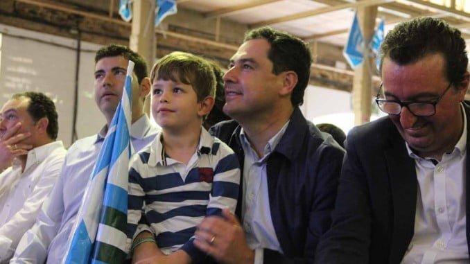 El presidente del PP-A ha participado en el acto del Día del Afiliado en Valverde