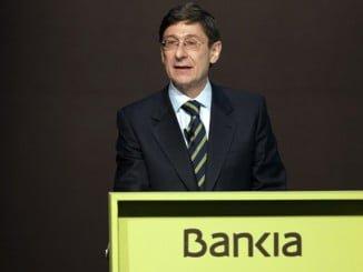 José Ignacio Goirigolzarri, presidente de Bankia dice que  la entidad ha devuelto casi unos 4.900 millones de euros por preferentes, la salida a Bolsa de Bankia y las cláusulas suelo