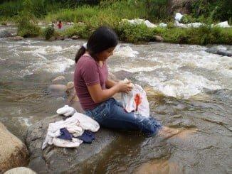 El jabón elaborado por Madre Coraje es sin duda el producto más solicitado por la población beneficiaria