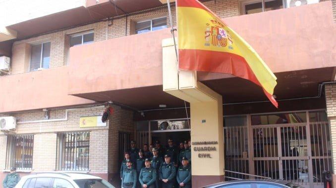 También la Guardia Civil de Huelva se une al dolor de las víctimas del atentado de ayer en Londres