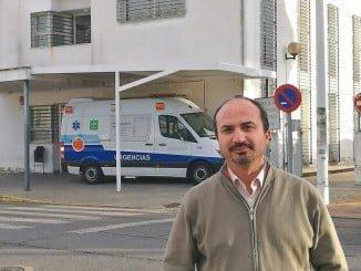 Miguel Ángel Gallego, portavoz de IU en el Ayuntamiento de Punta Umbría