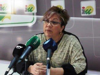 Monica Rossi, portavoz IU Ayuntamiento de Huelva