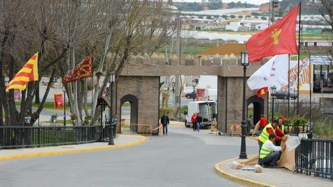 Casi un centenar de operarios municipales del Ayuntamiento de Palos ultiman los preparativos