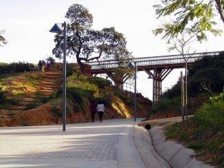 El Pulmón Verde de Huelva sigue siendo víctima de actos vandálicos