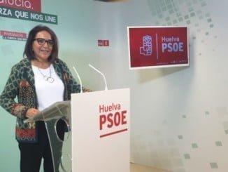 Pepa Bayo (PSOE) dice que una empresa ha situado a Huelva como la provincia más insegura de España