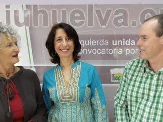 Pepa Beiras, Charo Beltrán y Miguel Angel Gea
