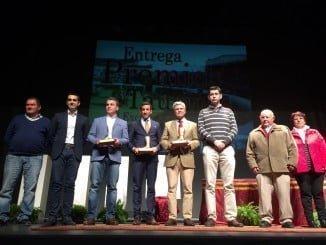 El Puerta del Andévalo se llenó ayer de albero y pasodoble en la entrega de Premios Taurinos 2016