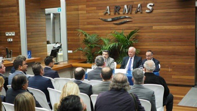 Presentación en sede Armas