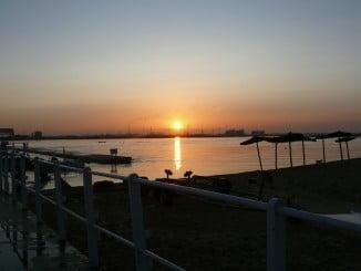 Amanecer en Punta Umbría