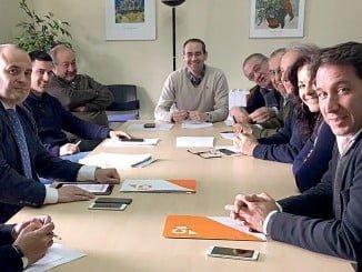 Reunión de Ciudadanos con la Asociación de Industrias de la Carne de Huelva