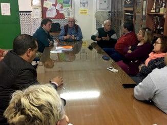 Ciudadanos se ha reunido con la asociación de vecinos, que reclama las viviendas