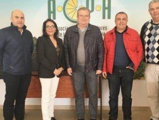 González Bayo con representantes de UPA y la Asociación Provincial de Citricultores
