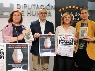 La Mancomunidad de Desarrollo Condado de Huelva ha presentado esta mañana en la Diputación Provincial de Huelva los Premios Elena Whishaw