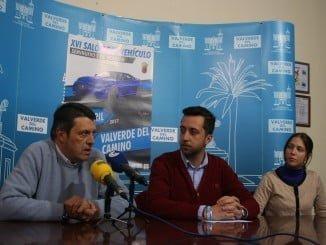 Ruda de prensa para presentar  XVI Salón del Vehículo Seminuevo y de Ocasión en Valverde