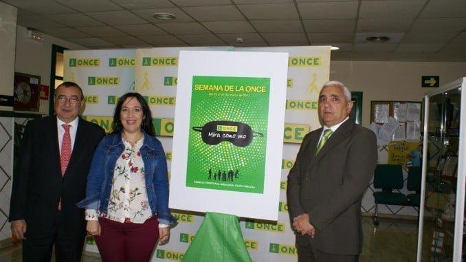 Presentación de la Semana de la ONCE en Huelva