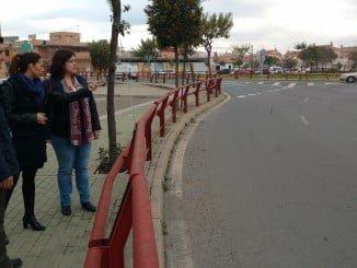 Obras de mejora en la travesía de Aljaraque