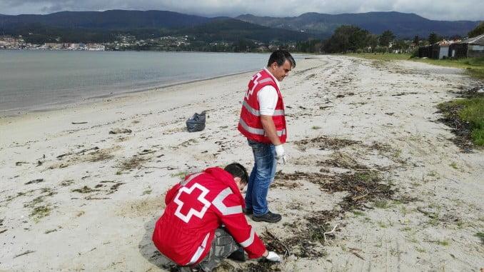 Voluntarios de Medio Ambiente de Cruz Roja
