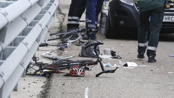 El ciclista fallecido tenía 85 años