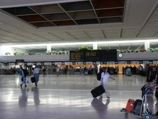 El aéreo es el transporte público que experimentó un mayor número de pasajeros