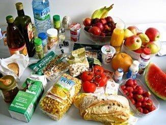 Las ventas de los productos alimenticios bajaron un 1,8% en febrero