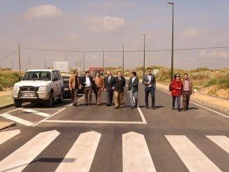 El alcalde de Ayamonte ha inaugurado esta nueva infraestructura, vital para la barriada de Punta del Moral