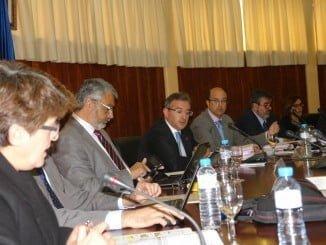 Reunión del Consejo de Gobierno de la Universidad de Huelva