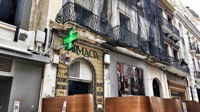El edificio de la calle Concepción está declarado en ruina desde 2010