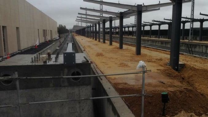 El PP asegura que las obras de la nueva estación están al 50% y van en plazo