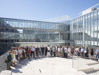 Alumnos en la Escuela de Ingeniería de Huelva