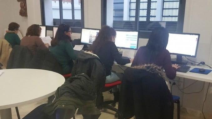 58 mujeres trabajan en los centros Guadalinfo de la provincia de Huelva
