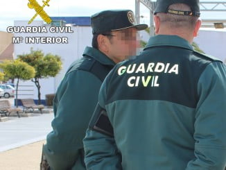 La Guardia Civil ha detenido al individuo de nacionalidad rumana