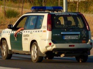 La Guardia Civil ha realizado una intensa búsqueda por Huelva, Sevilla y Extremadura