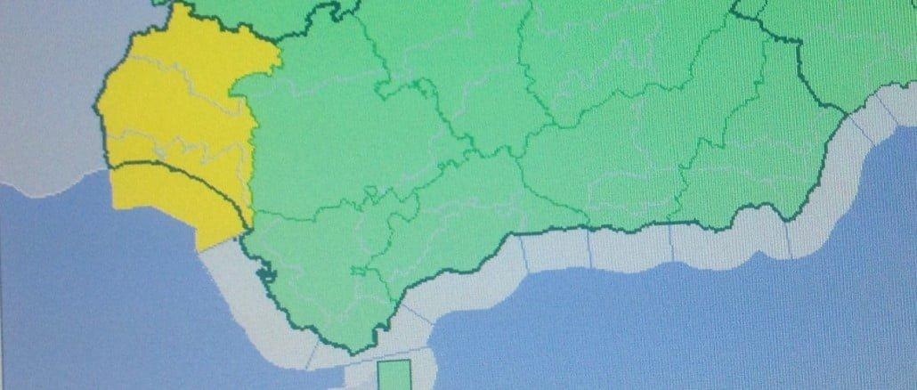 El aviso amarillo por fuerte viento permanecerá este domingo en toda la provincia