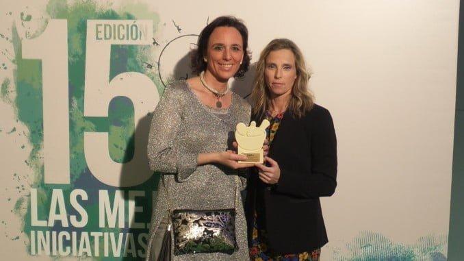 María José Coronado y Eva Alonso recogen este premio en Madrid
