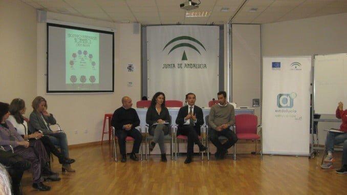 Ceada se ha reunido con los responsables de los 13 proyectos empresariales alojados en el Cade de Huelva
