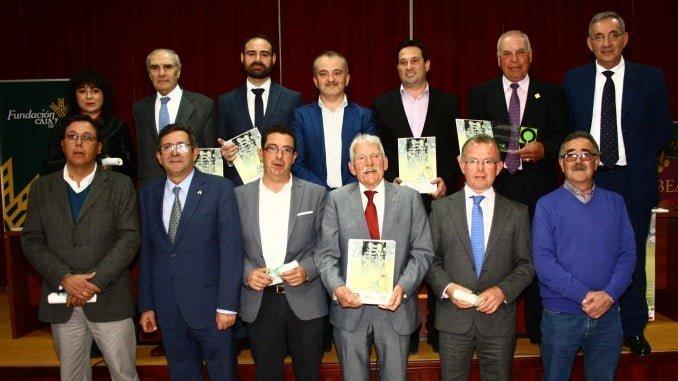 Foto de los galardonados con los premios Verdiales