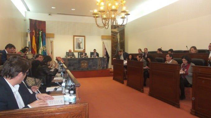 Sesión plenaria del mes de marzo en Diputación