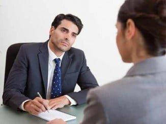Las cuestiones planteadas a lo largo de una entrevista laboral pueden sobrepasar algunos límites legales