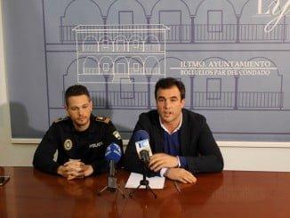 El alcalde y el subinspector jefe de la Policía piden que se deje trabajar a los Cuerpos y Fuerzas de Seguridad