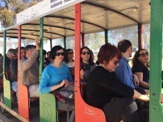 Responsables comunitarios del proyecto 'Wetnet' visitando Marismas del Odiel