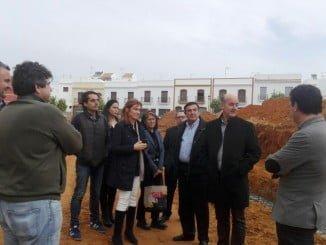 El delegado de Educación ha visitado las obras del colegio Río Piedras