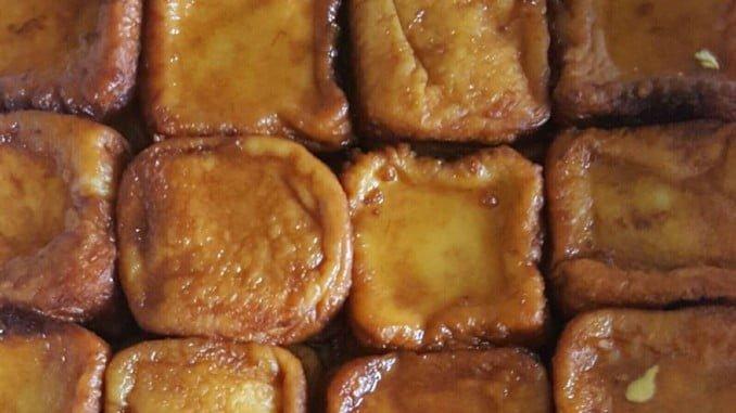 Las torrijas son uno de los dulces típicos de la Semana Santa