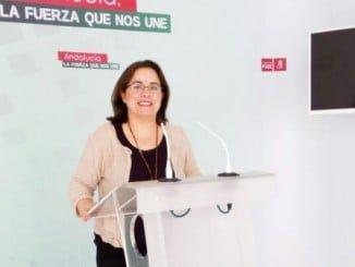 Pastora López, del PSOE de Palos, pide que se active Protección Civil en Mazagón.