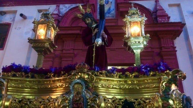 Nuestra Padre Jesús Nazareno estación la penitencia este jueves en Valverde del Camino.
