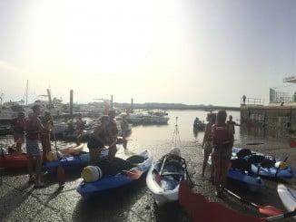 Subida del Río Piedras en Kayak-