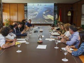 Reunión técnica en el Puerto de Huelva