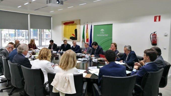 Además de hacer balance, en la reunión se ha informado sobre el desarrollo de los nuevos instrumentos en el Marco del Programa Operativo 2014-2020