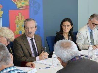 Asunción Grávalos ha presidido la Comisión Provincial de Seguimiento del Profea 2017