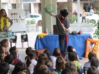 Mucha animación en la Feria del Libro de Huelva
